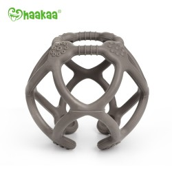 Haakaa Silicone Teething Ball - Charcoal