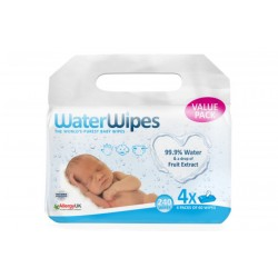 WaterWipes Baby Wipes (4 Packs)