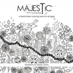 Majestic: Flights of Imagination Coloring Book