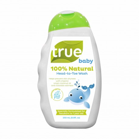 True Natural Baby Head to Toe Wash - 250ml