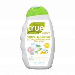 True Kinder Conditioning Shampoo and Body Wash - 250ml