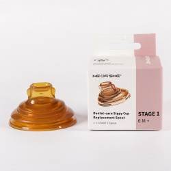 Heorshe Dental-care Sippy Cup Stage 1 Spout (6M+)