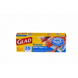 Glad Freezer Bags-Large 20s