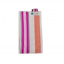 Next9 Nursing Covers - Pink and Orange Stripes