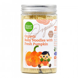 Simply Natural Certified Organic Baby Noodles with Fresh Pumpkin - 200g