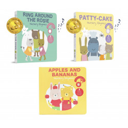Cali's Books Bundle (New) - Apples and Bananas / Ring Around the Rosie / Patty Cake