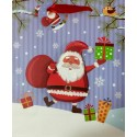 PAPER BAG SMALL - HAPPY SANTA (PACK OF 12)