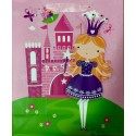 PAPER BAG SMALL - PRINCESS IN PINK (PACK OF 12)