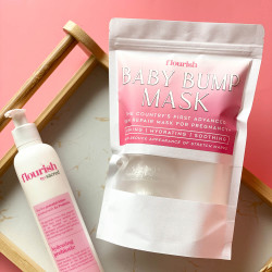 Flourish Prebiotic Lotion + Baby Bump Mask Bundle