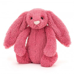 JELLYCAT BASHFUL BUNNY MEDIUM - CERISE