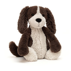 JELLYCAT BASHFUL PUPPY MEDIUM - FUDGE