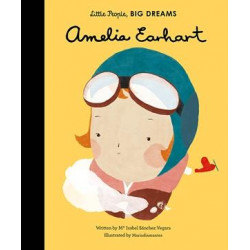 Little People, Big Dreams - AMELIA EARHART