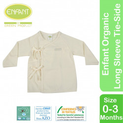 Enfant Organic Cotton Tie-Side Shirt - Long Sleeve