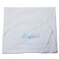 Enfant Cotton Receiving Blanket with Hood