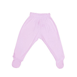 Enfant Cotton Pants with Footsies