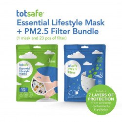 Totsafe Mask and Filter Pack Bundle - Adult