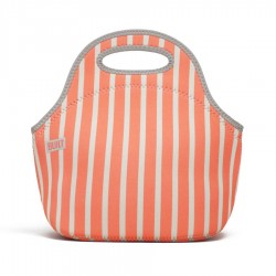 Built NY Gourmet Getaway Lunch Tote - Neon Stripe Coral