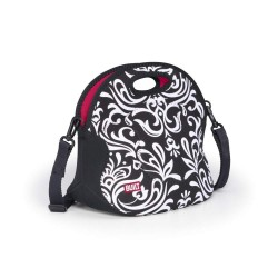Built NY Spicy Relish Lunch Tote - Damask Black & White