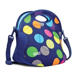 Built NY Spicy Relish Lunch Tote - Scatter Dot