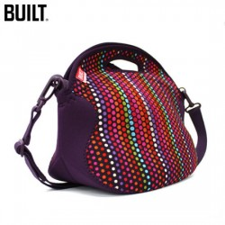 Built NY Spicy Relish Lunch Tote - Micro Dot