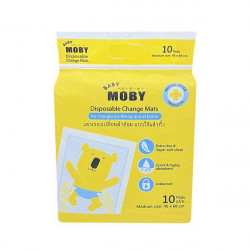 Moby Disposable Underpads - 10 Sheets
