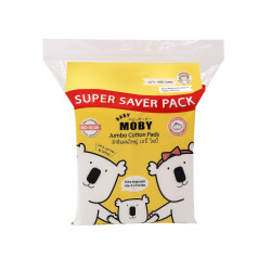 Baby Moby Jumbo Cotton Pads - 170grams