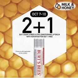 BUY 2 TAKE 1: Burt's Bees Ultra Conditioning Lip Balm with Kokum Butter