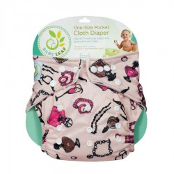 Baby Leaf One-Size Pocket Cloth Diaper - Chic Lady
