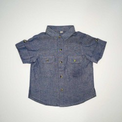Andrew Short Sleeved Chambray Shirt