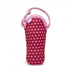 BUILT NY One Bottle Tote - Baby Pink Mini Dots