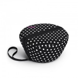 BUILT NY Bento Salad Bowl - Mini Dot Black and White