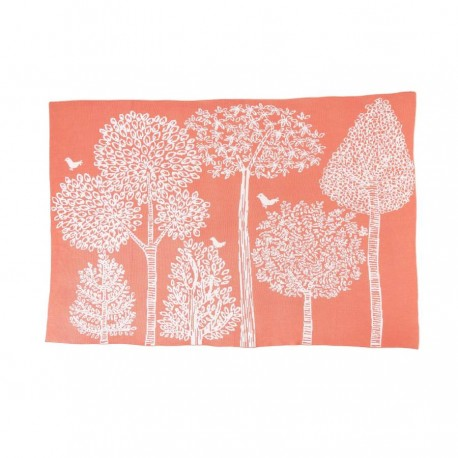 DwellStudio Graphic Knit Blanket - Treetops