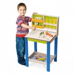 Wonderworld Bench and Tools