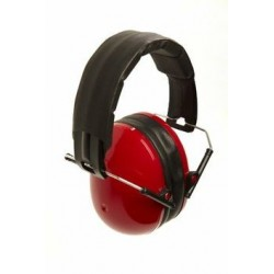 Banz Earmuffs for Kids - Red