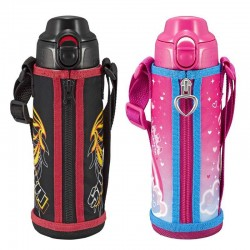 Tiger Stainless Steel Water Bottle (0.5L) - Pink
