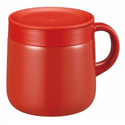 Tiger Stainless Steel Mug - Cherry Red