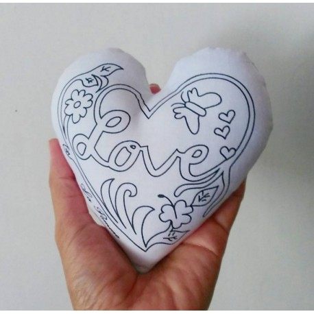 Decorate a Plush - Paperweights / Love
