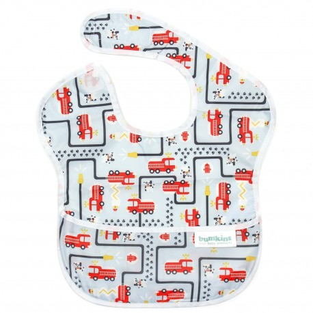 Bumkins Super Bib 1pc - Fire Engine