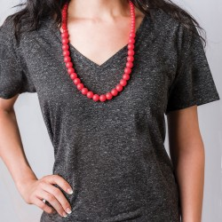 Nixi Teething Necklace / Ciclo / Red
