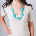 Nixi Teething Necklace / Pietra / Turquoise