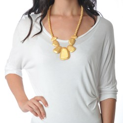 Nixi Teething Necklace / Rocca / Gold