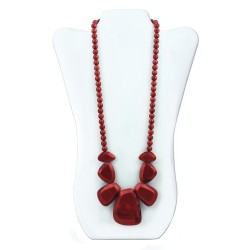 Nixi Teething Necklace / Rocca / Ruby
