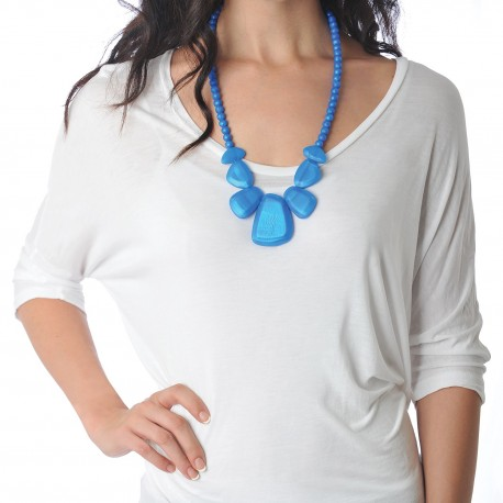 Nixi Teething Necklace / Rocca / Sapphire
