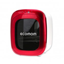 EcoMom Dual UV Sterilizer and Dryer with Anion - Red