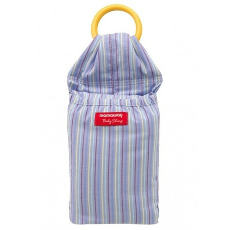 Mamaway Violet Blue Baby Ring Sling