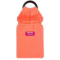 Mamaway Papaya Colored Baby Ring Sling