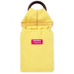 Mamaway Lemony Yellow Baby Ring Sling