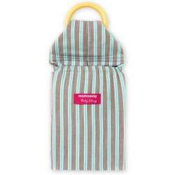 Mamaway Mint Chocolate Baby Ring Sling