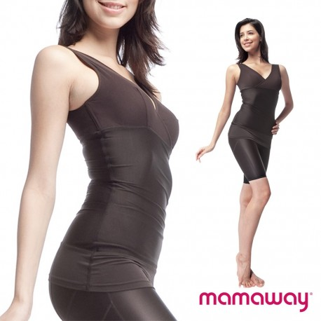 Mamaway Recovery Nursing shaper with Built-in Crossover Nursing Bra
