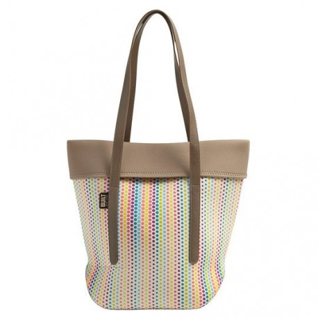 Built NY City Tote - Candy Dot